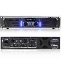 2x Ekho RX600 Power Amplifiers 1200W