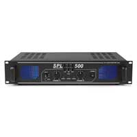 Skytronic SPL500 DJ Disco PA Amplifier 500W