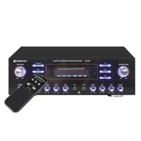 Skytronic Hifi Surround Sound MP3 USB Microphone AV Receiver Digital Amplifier