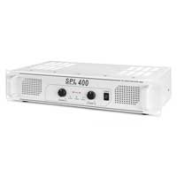 Skytec SPL-400 Watt White Power Amplifier