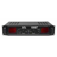 Skytec SPL-1000BT Bluetooth 3-Band EQ Amplifier 2 x 500W