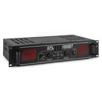 Skytec SPL-1000BT Bluetooth 3-Band EQ Amplifier 2 x 500W