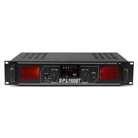 Skytec SPL-1500 Bluetooth MP3 Power Amplifier 2 x 750W