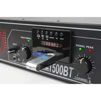 Skytec SPL-2000BT Bluetooth 2 Channel Power Amplifier