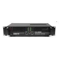 Vonyx VXA-1500 MKII 2 Channel Power Amplifier