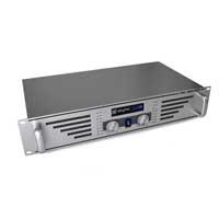 """Skytec PA Speaker Amplifier Mobile DJ Disco HiFi Stereo Amp 19"""" Rack 240W Silver"""