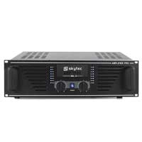 "Skytec PA Speaker Amplifier Mobile DJ Disco Stereo Amp 19"" Rack 1500W Black"