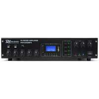 4 Zone Amplifier PA Mixer Amp MP3 USB Music Paging Announcements 100v / 120w