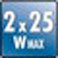 Monacor 254620 SA-50 Hi-Fi Stereo Amplifier 2x 25 Watt