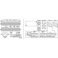 Monacor 243150 PA-5480 100V Line 5 Zone PA Mono Mixer Amplifier 480 Watt