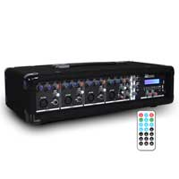 Power Dynamics PDM-C405A Bluetooth 4 Channel Mixer Amplifier