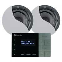 Systemline E100 6.5 inch Bluetooth Speaker and Amplifier System