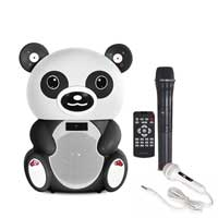 Fonestar BEAR-400P Battery Powered Bear Karaoke Speaker with Microphone