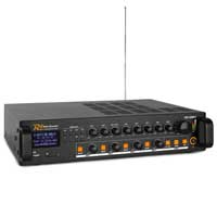 PD PDV120MP3 4 Zone PA Mixer Amplifier