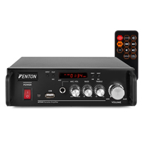 Fenton AV344 Karaoke Amplifier, Battery