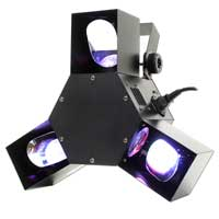 BeamZ Triple Flex LED Scanner Disco Light