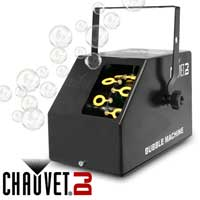 Chauvet B-250 Bubble Machine + 5l Fluid