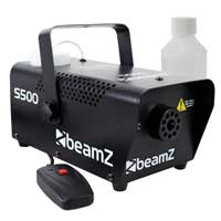 BeamZ S500 Smoke Machine with 250ml Fluid