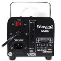 BeamZ S500 Smoke Machine with 250ml Fluid