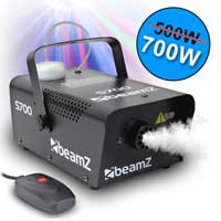 2x Beamz Smoke Machines 700W