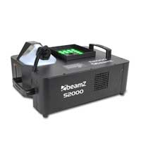 Beamz S2000 Smoke Machine with RGB LED Colour 2000W