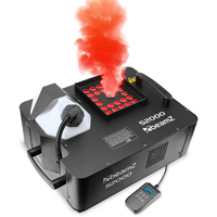 BeamZ S2000 Vertical Smoke Machine With LED Lights