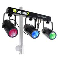 Beamz 3-Some Moonflower Effect Lighting Rail System