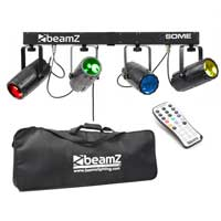 BeamZ 4-Some DMX Moonflower Party Lighting Set