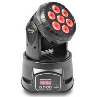 Wash Moving Head Light DJ Disco Club Banger DMX Pan Tilt 10w QUAD LEDs|MHL-74