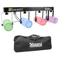 Beamz 4-Some Clear LED Lighting Rail