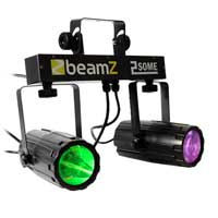 Beamz 2-Some LED Moonflower Lighting Rail