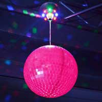 Beamz Motorised LED Mirror Ball