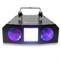 BeamZ Uranus Double LED Moonflower Strobe Light