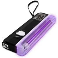 BeamZ Mini UV Torch Light