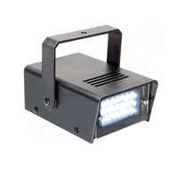 BeamZ Mini Stroboscope Strobe Light - Party Light