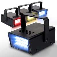 BeamZ Multi-Colour 4 Strobe Light Set