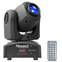 Beamz Panther 25 American CREE LED DJ Pocket Spot Scan Moving Head Light