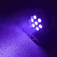 BeamZ FlatPar UV LED Par Can