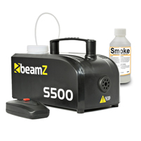 BeamZ S-500 Fog Machine with 100ml Fluid