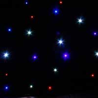 BeamZ Sparklewall DJ LED Star Cloth Facade