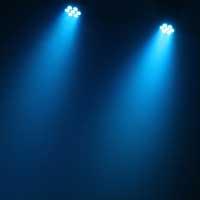 BeamZ MHL-74 LED Moving Head Light White, Pair