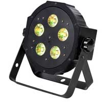 ADJ VPAR PAK LED Flat PAR DMX Light Set (x2) with Remote, Bag and Cables