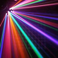 BeamZ LED Mushroom DJ Light