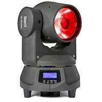 Beamz Professional Panther 60 LED Spot Moving Head DJ Disco Light Colour Mixing DMX