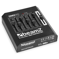 Beamz DMX60 DJ Disco Party Lighting Controller 6-Channel XLR DMX Light Console