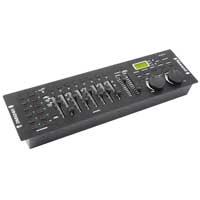 Beamz DMX-240 DJ Disco Party Lighting Controller 192-Channel DMX Light Console