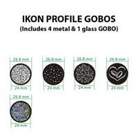 American DJ ADJ Ikon Profile Custom GOBO Projector Disco Light  Colour Lighting