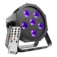 BeamZ BFP130 FlatPAR Ultraviolet Light