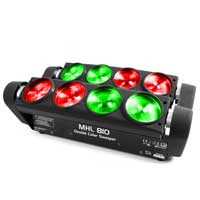 BeamZ MHL810 Double Sweeper Party Light