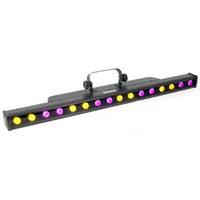 LED Bar Uplighter Colour Wall Washer Strip Light Chase DMX 1M Battern Batten DJ